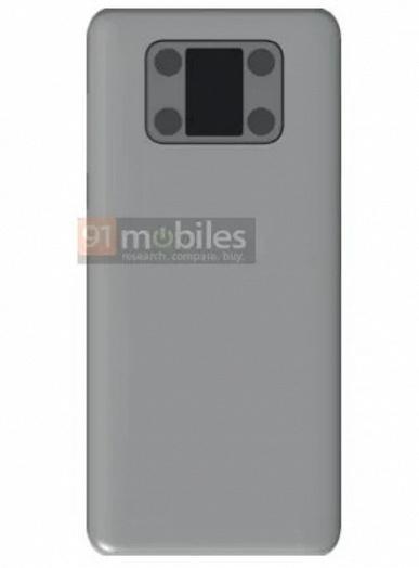 Huawei подсмотрела у Meizu Pro 7? Компания рассматривает возможность выпуска смартфона с дополнительным экраном на задней крышке