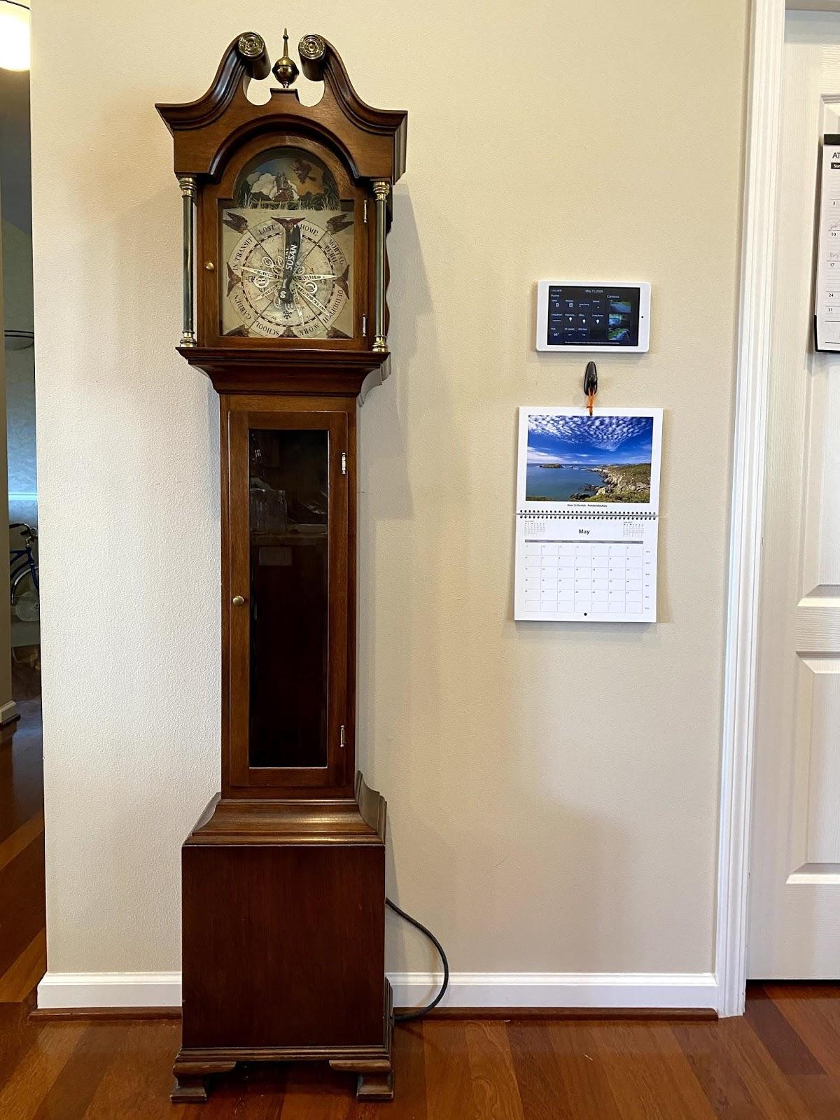 Проект «часов Уизли» с демонстрацией местоположения членов семьи - 7
