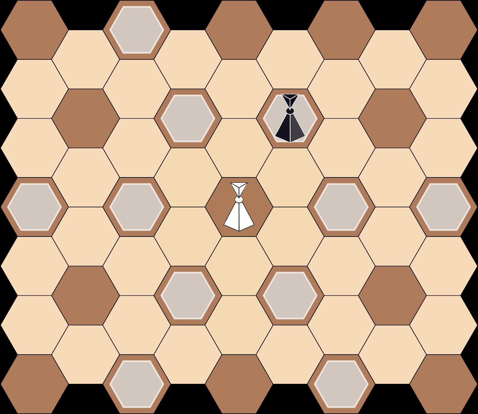 4 угла хорошо, а 6 лучше: гексагональные шахматы в консоли и с ботом - 7