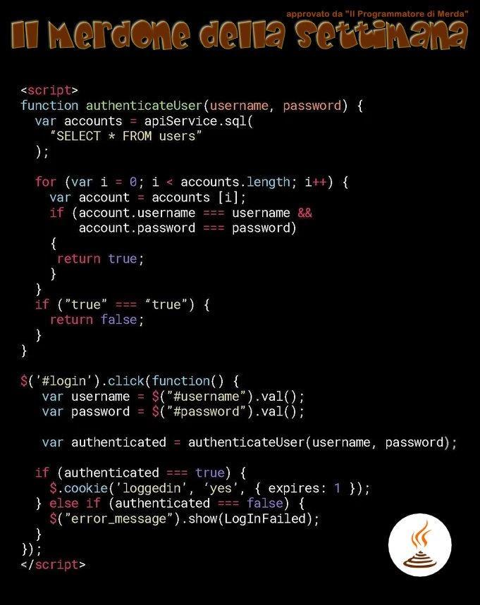 Разбор худшего в мире куска кода - 1