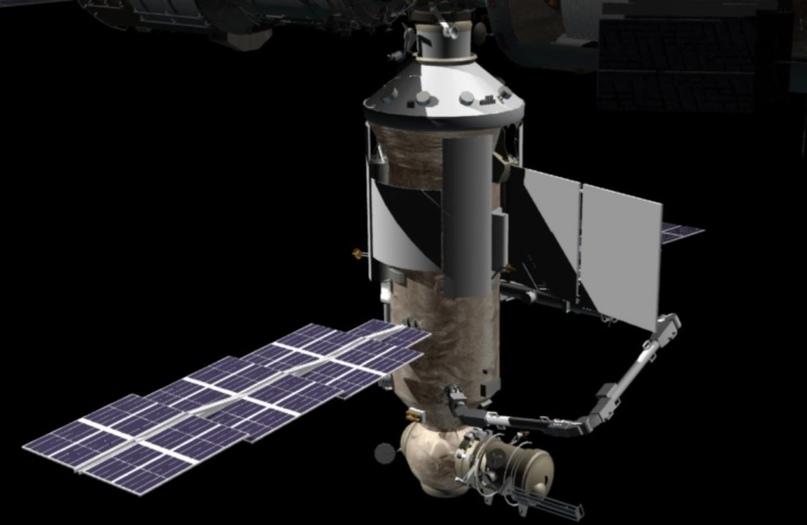 Российский модуль МКС «Наука» прибыл на Байконур для окончательной подготовки к запуску. NSF - 1