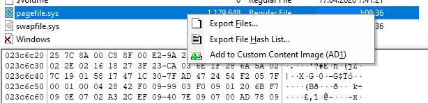 Тайны файла подкачки pagefile.sys: полезные артефакты для компьютерного криминалиста - 2