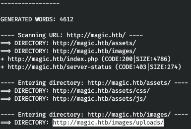 HackTheBox. Прохождение Magic. Password spraying. Mysqldump и LPE через sysinfo - 10