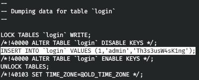 HackTheBox. Прохождение Magic. Password spraying. Mysqldump и LPE через sysinfo - 18