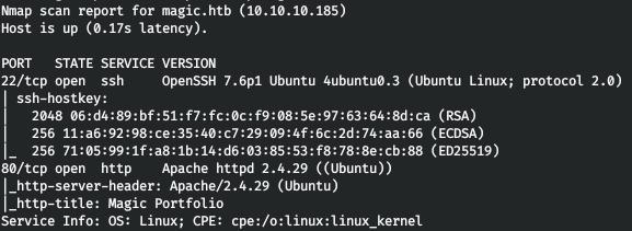 HackTheBox. Прохождение Magic. Password spraying. Mysqldump и LPE через sysinfo - 3