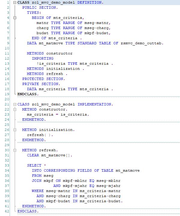 Реализация MVVM в ABAP - 7