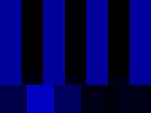 Как цветные полосы стали самым популярным тестовым паттерном для ТВ - 6