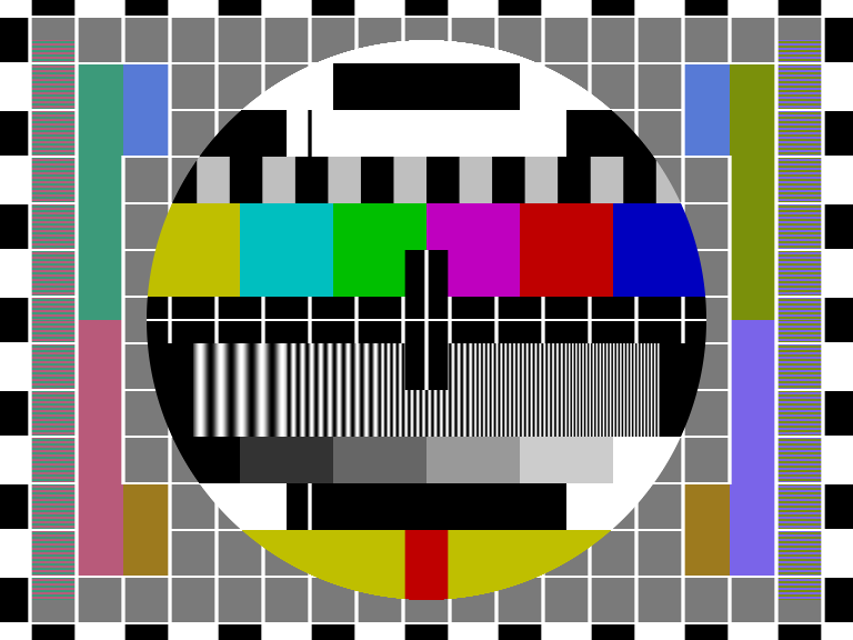 Как цветные полосы стали самым популярным тестовым паттерном для ТВ - 1
