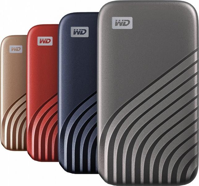 Внешние твердотельные накопители Western Digital My Passport SSD пока предложены объемом 500 ГБ и 1 ТБ