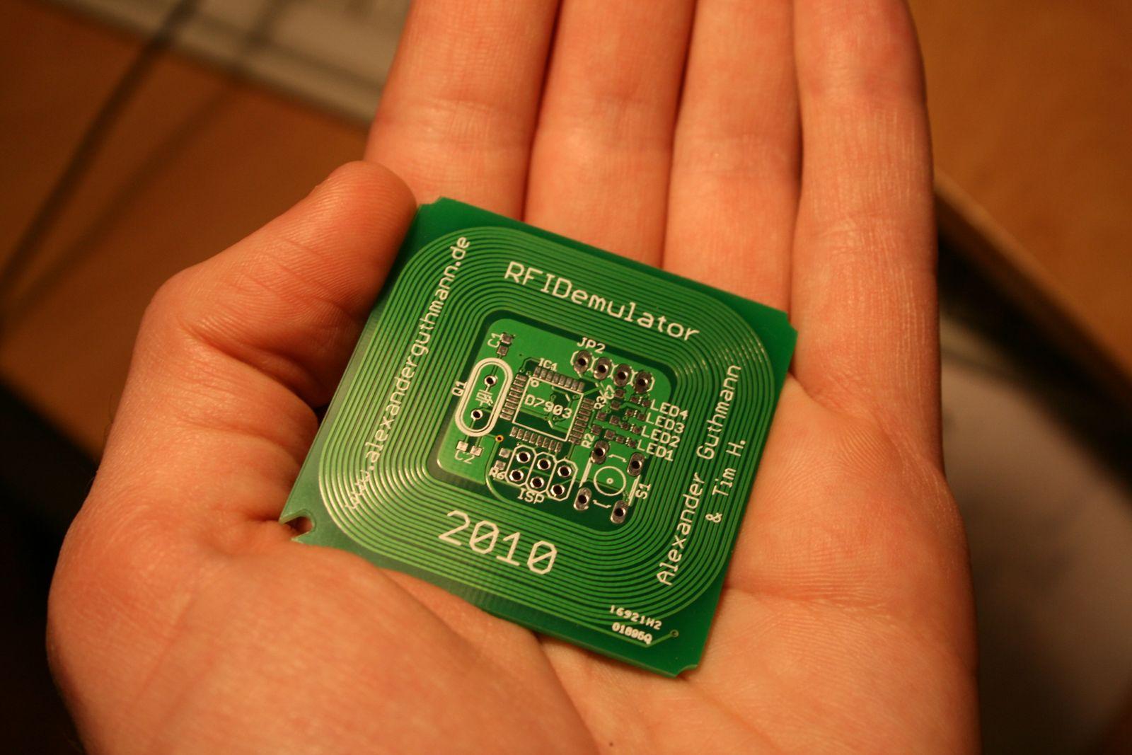 Эмулятор RFID - 28