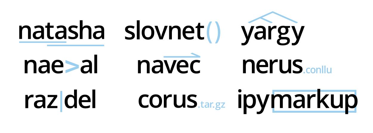 Проект Natasha. Набор качественных открытых инструментов для обработки естественного русского языка (NLP) - 2