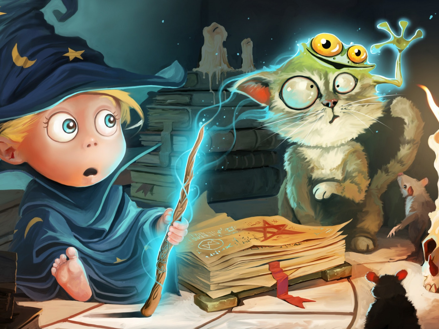 Уроки волшебства для кота, дейтинг для беременных и астрология - 1