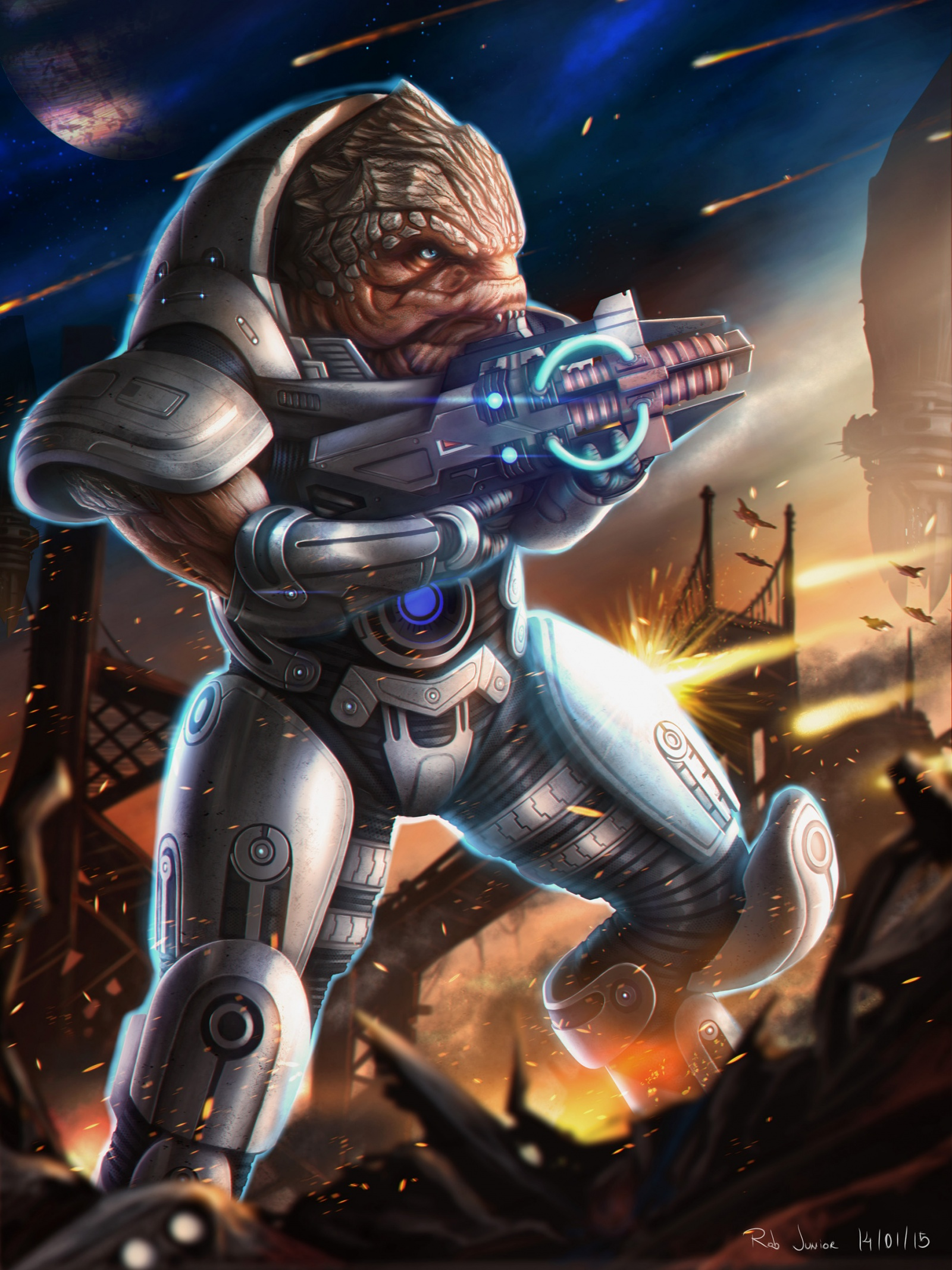 Krogan on Tuchanka