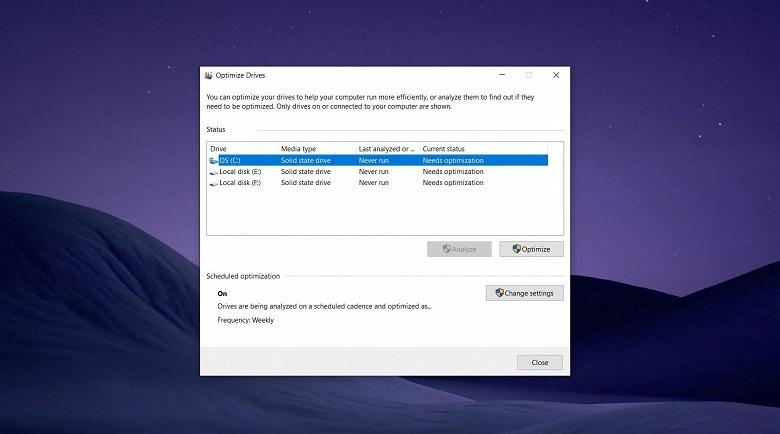 Последняя версия Windows 10 может плохо сказаться на SSD. Microsoft уже тестирует исправление