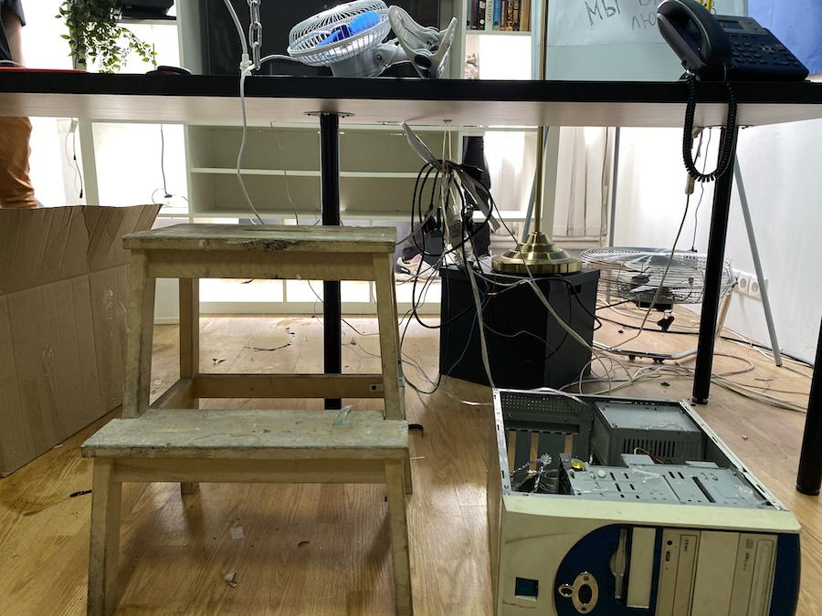 Железо проекта: как мы строили комнату с хакерским квестом - 2