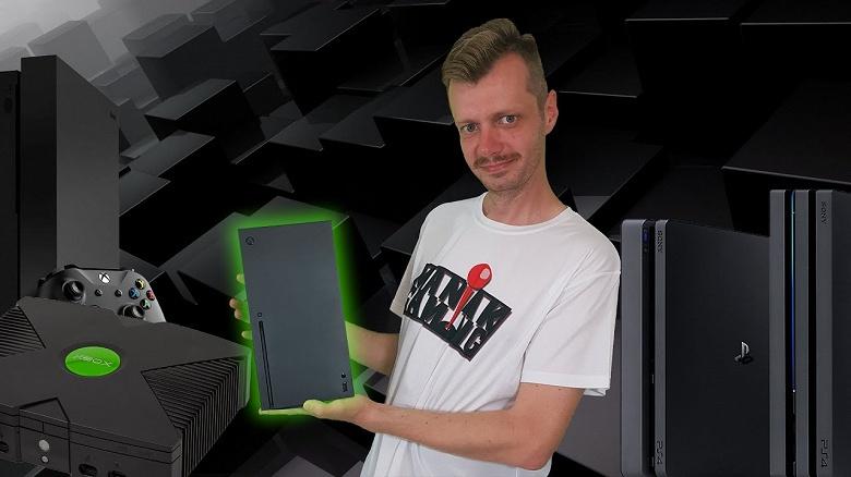 Прототип Xbox Series X сравнили с многими консолями современности