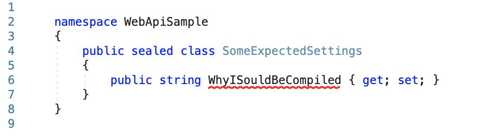 Как «готовить» nullable reference types с добавлением appsettings.json - 1