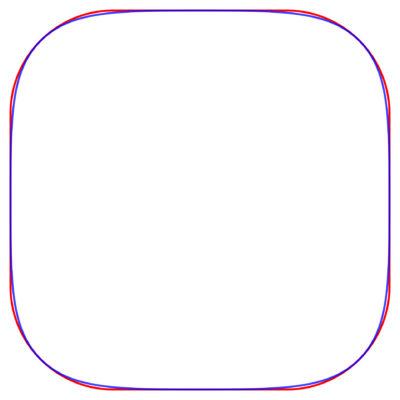 Секрет формы иконок iOS: это сквиркл? Разбор - 12