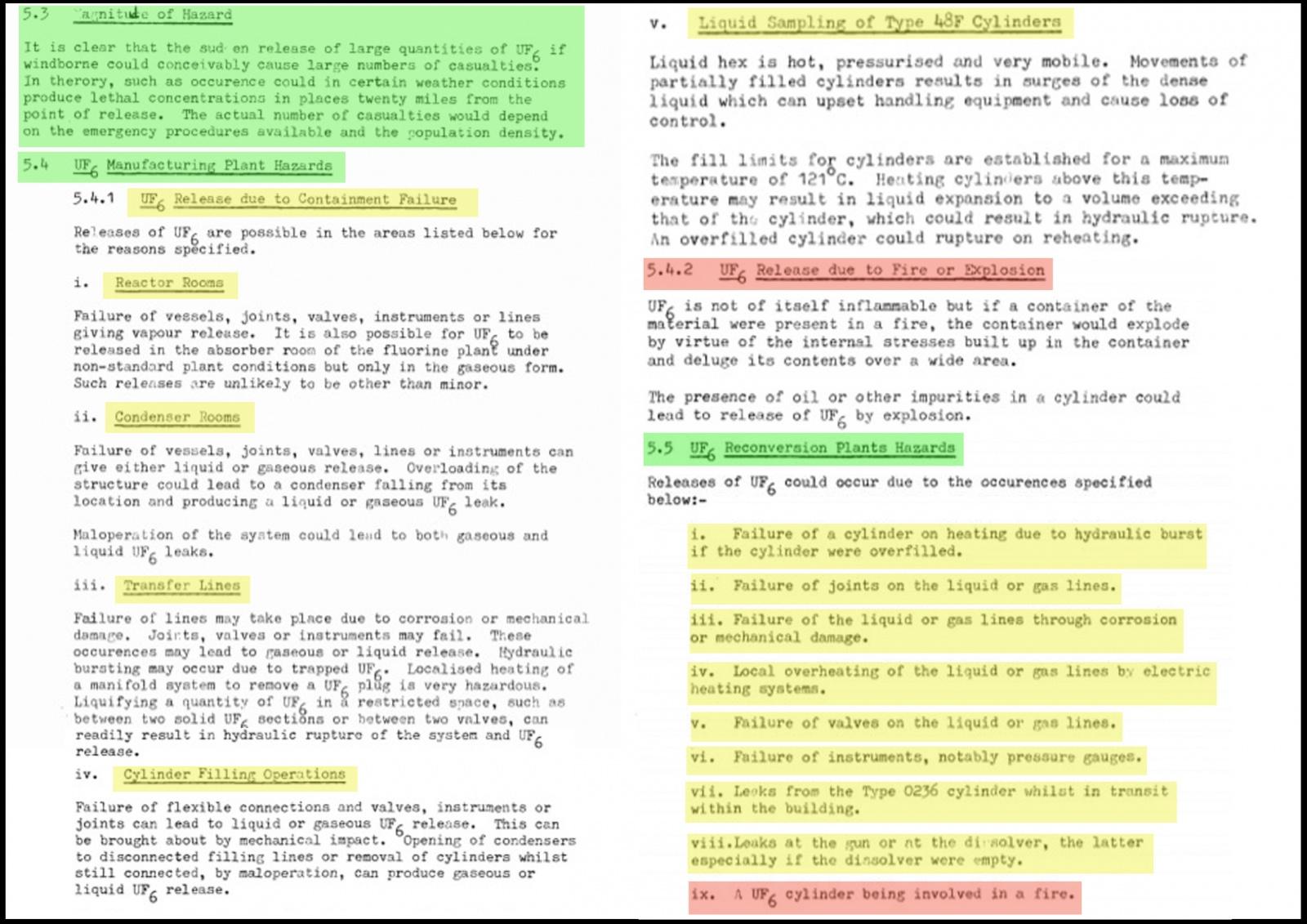 Ввоз немецких урановых хвостов в Россию. Часть 3: Риски и опасности при обращении с ОГФУ - 3