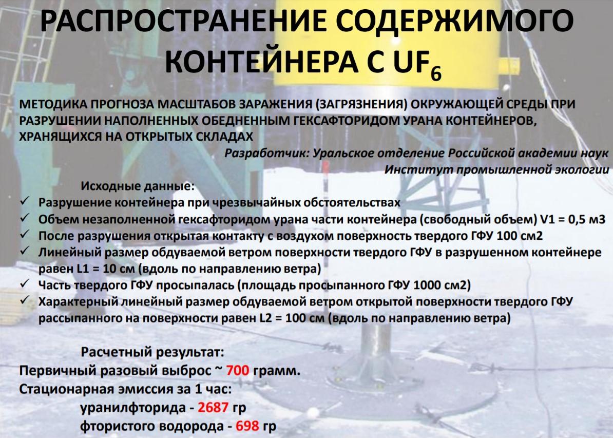 Ввоз немецких урановых хвостов в Россию. Часть 3: Риски и опасности при обращении с ОГФУ - 7