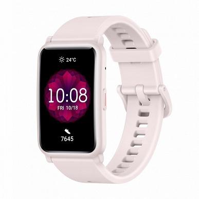 Умные часы Honor Watch ES за 100 евро выделяются прямоугольным экраном