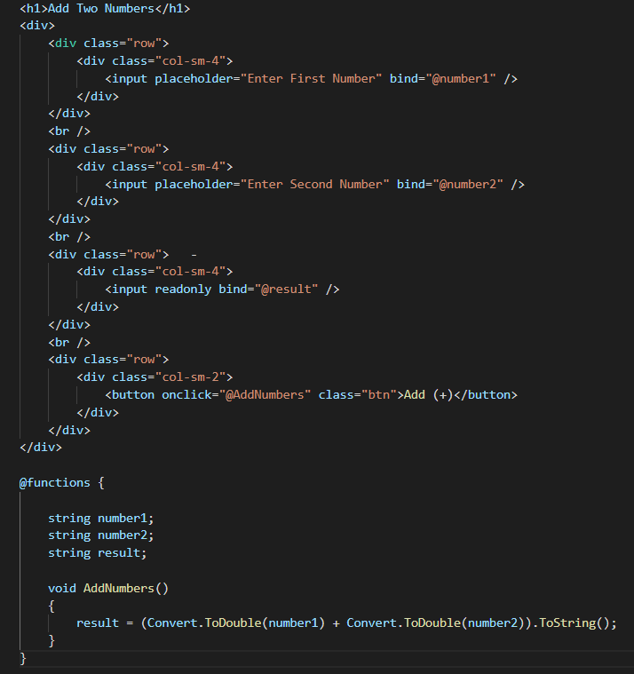 Сравнение Blazor и JavaScript-инструментов - 2