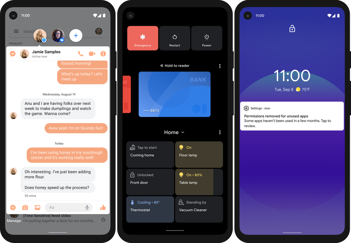 Вышел Android 11 с единым разделом для мессенджеров, записью экрана и управлением smart-устройствами - 8