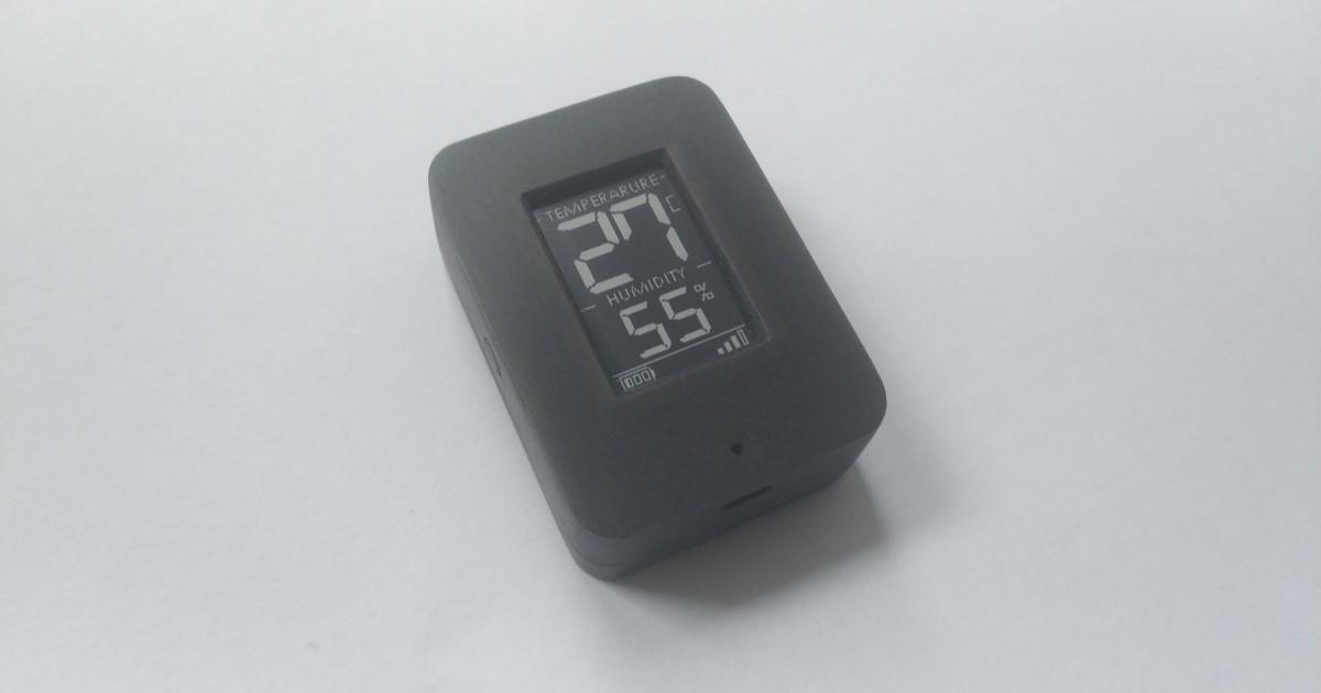 Мини Термометр & гигрометр с E-PAPER на nRF52 — или о том, что пока не выпустили производители - 1