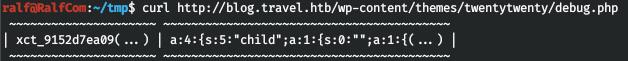HackTheBox. Прохождение Travel. Memcache+SSRF=RCE, LPE через LDAP - 17