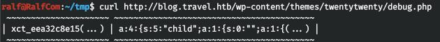 HackTheBox. Прохождение Travel. Memcache+SSRF=RCE, LPE через LDAP - 23