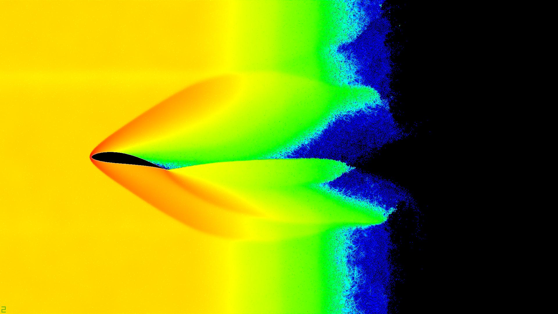Симуляция подъёмной силы Ньютона методом частиц на CUDA - 2