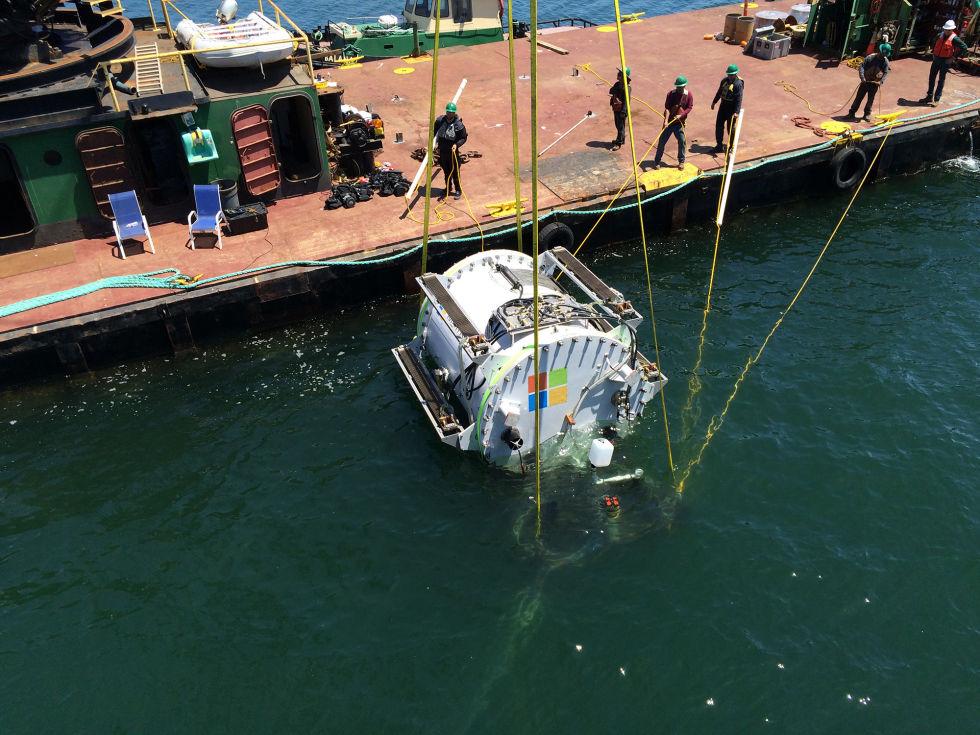 Microsoft отчиталась об успешном проведении эксперимента по созданию подводного дата-центра - 2