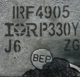 Смотрим полевой транзистор IRF4905 фирмы International Rectifier с технологией HEXFET 5-ого поколения - 1