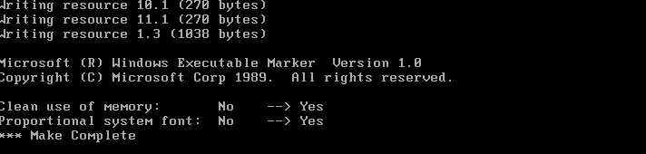 Компилируем Microsoft Word 1989 года - 5
