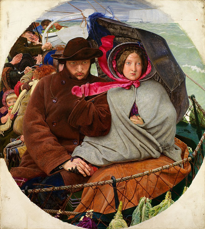 The Last of England, Ford Madox Brown