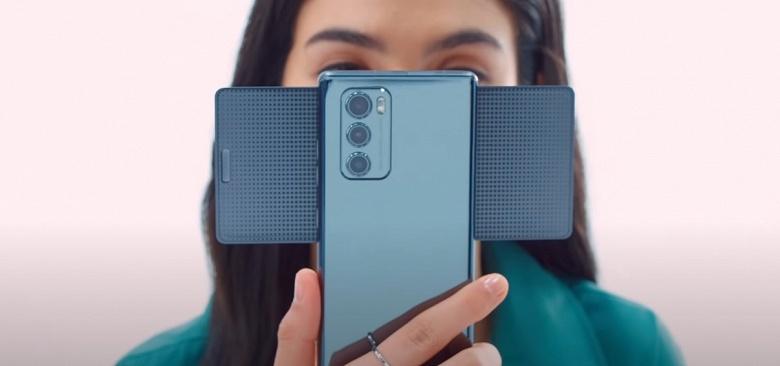Смартфон-веер, смартфон-топорик. LG показала, насколько сложна конструкция модели Wing
