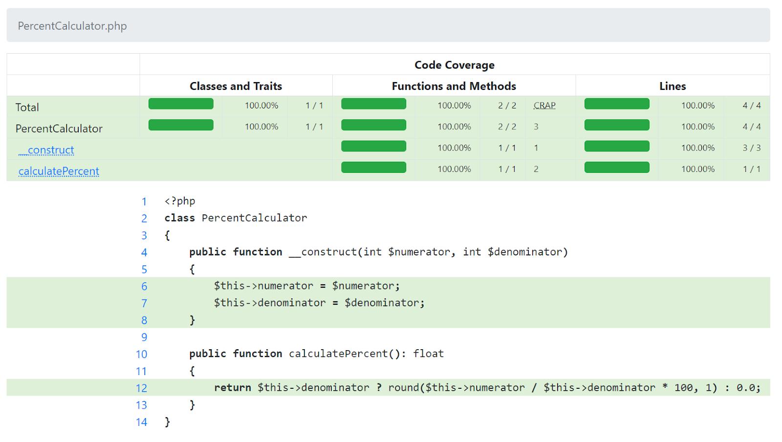 Улучшения покрытия PHP кода в 2020 году - 2