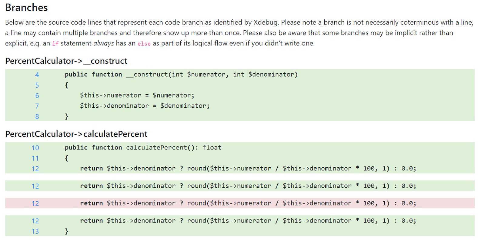 Улучшения покрытия PHP кода в 2020 году - 4