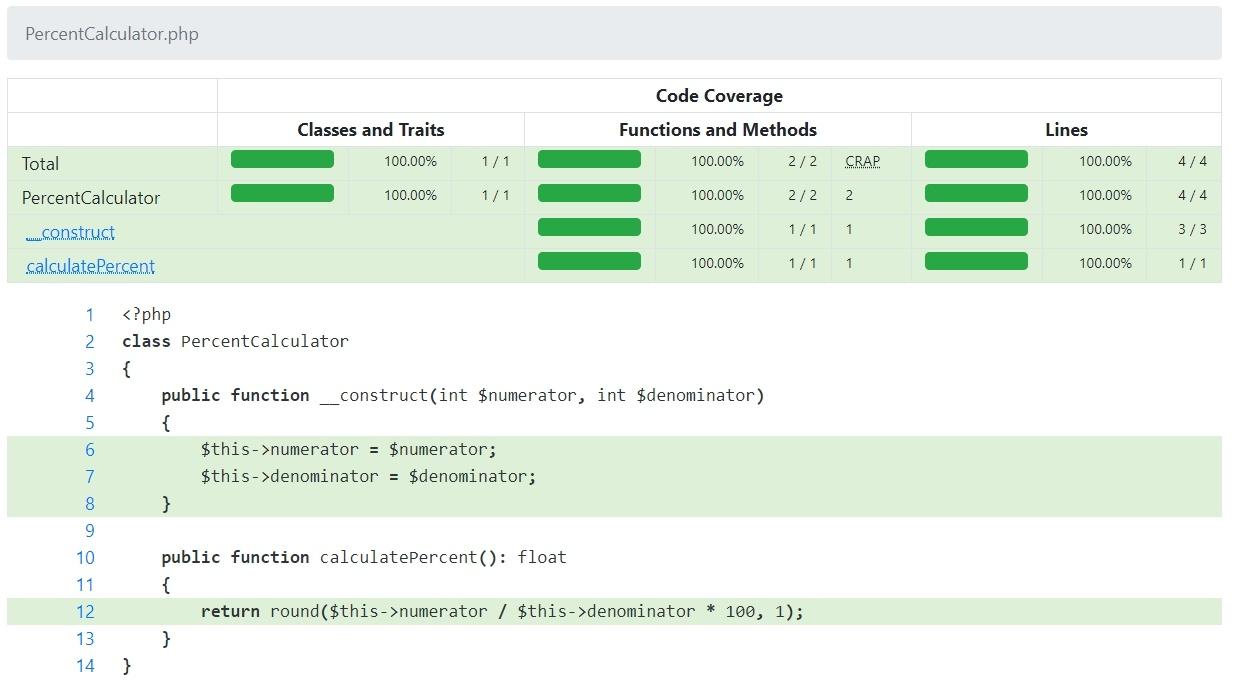 Улучшения покрытия PHP кода в 2020 году - 1