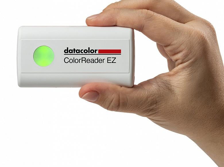 У Datacolor готово недорогое устройство для цветовых измерений ColorReader EZ