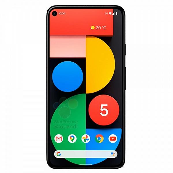 Google Pixel 5 может стать первым смартфоном с Android, у которого рамка вокруг экрана будет одинаковой ширины с любой стороны