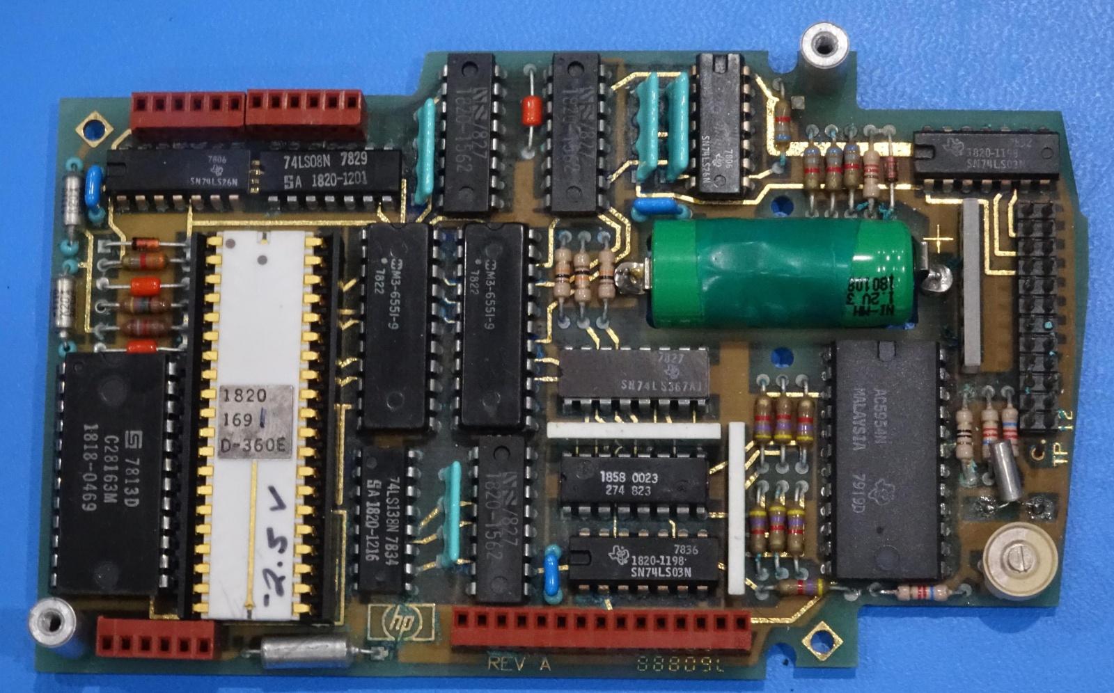 Внутренности HP Nanoprocessor: высокоскоростной процессор, не умеющий складывать - 16