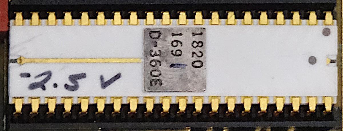 Внутренности HP Nanoprocessor: высокоскоростной процессор, не умеющий складывать - 2