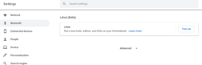 Запуск Linux-приложений на Chromebook - 5