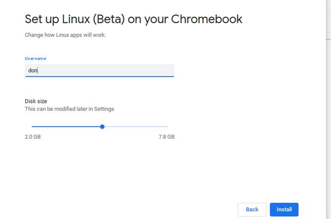 Запуск Linux-приложений на Chromebook - 7