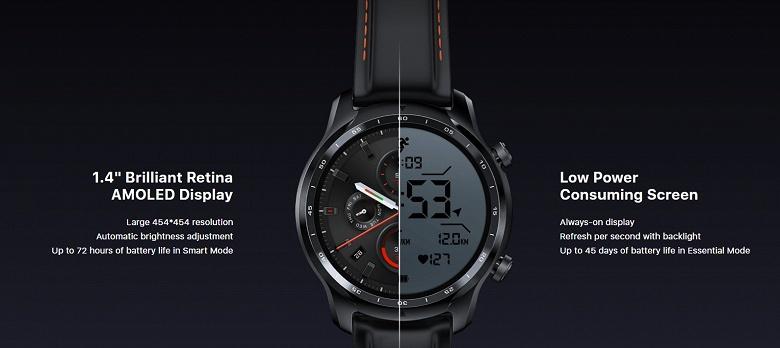 Mobvoi TicWatch Pro 3 — умные часы с Wear OS наконец-то стали автономными