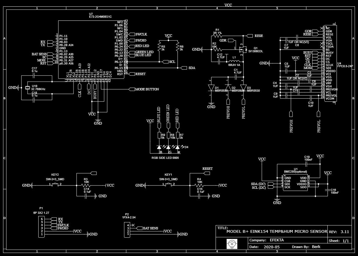 Беспроводной DIY датчик температуры и влажности с e-paper дисплеем - 10