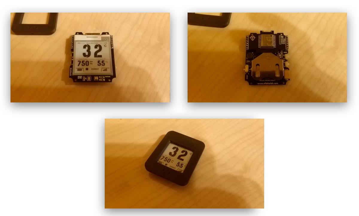 Беспроводной DIY датчик температуры и влажности с e-paper дисплеем - 12