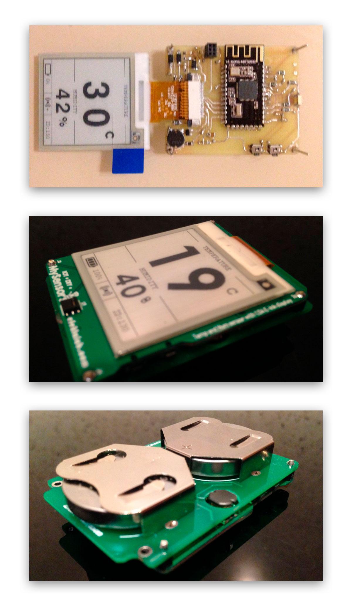 Беспроводной DIY датчик температуры и влажности с e-paper дисплеем - 3